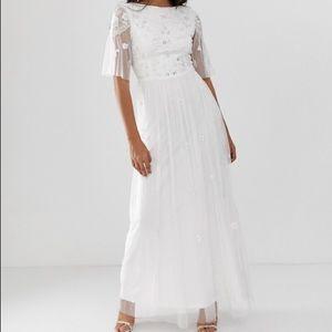 NWT ASOS Art Deco wedding dress
